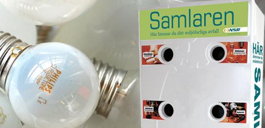 Samlaren med glödlampor