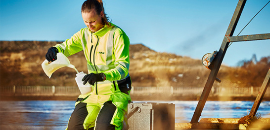 NSR-personal tar vattenprover