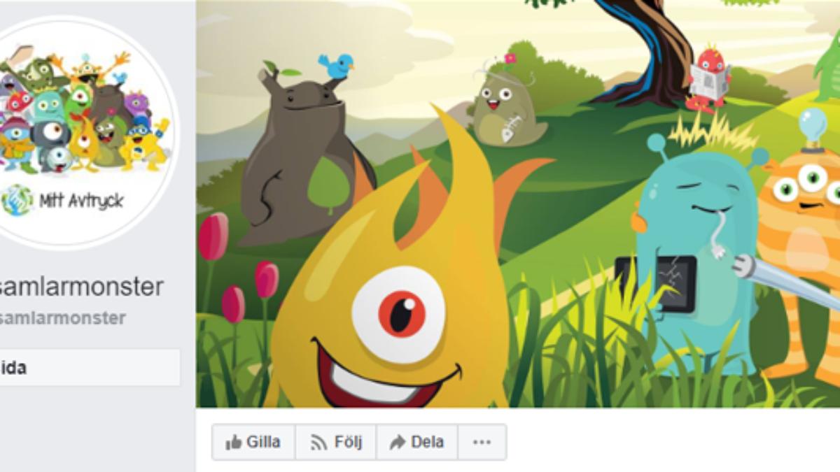 Se vad sopsamlarmonstren har för sig på Facebook