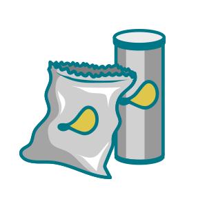 Chipsförpackningar