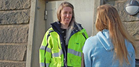 Avfallsrådgivare Johanna