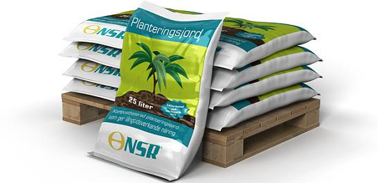 Planteringsjord på säck