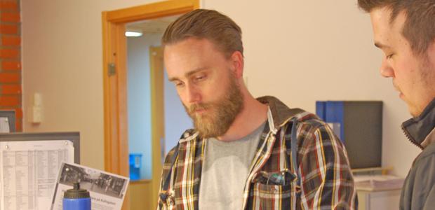 Transportledare Martin på NSR