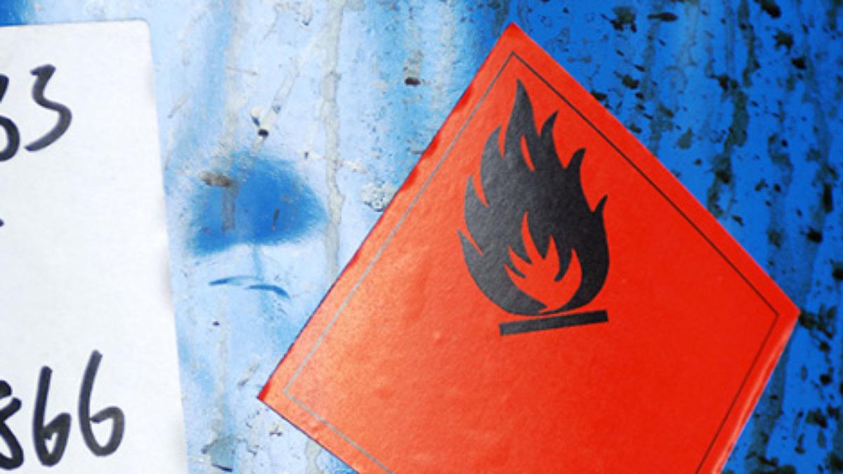 Lämna farligt avfall som företag