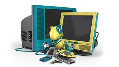 Hämtning av elektronikavfall