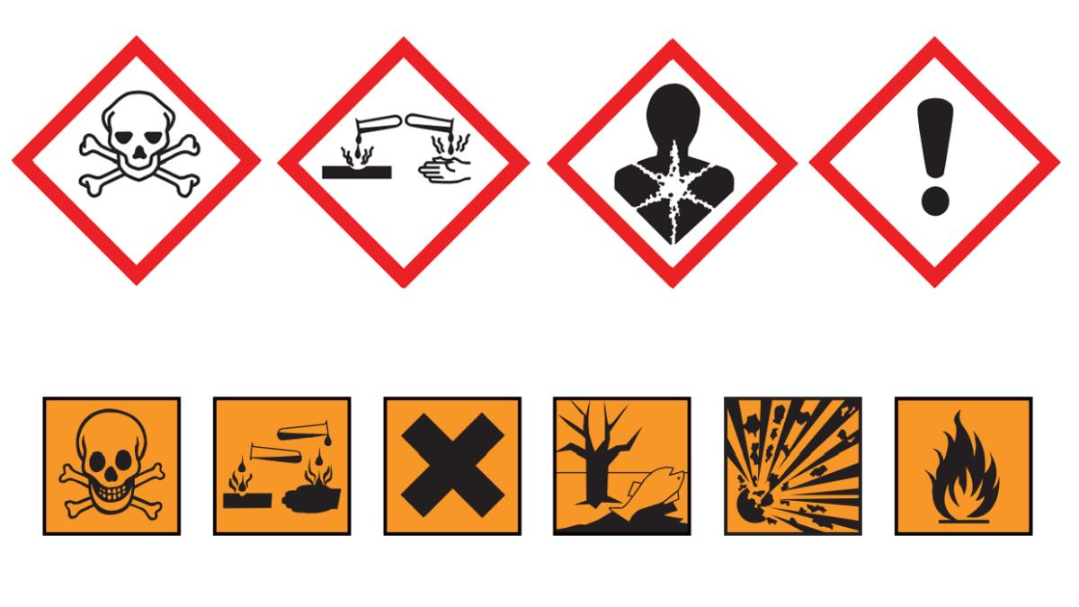 Exempel på farligt avfall