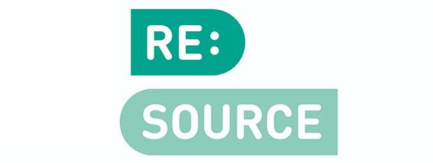 Logotyp för RE:source