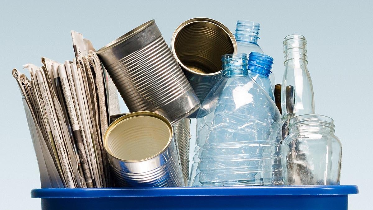 Olika typer av avfall