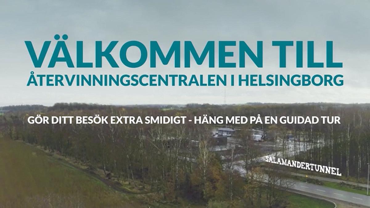 Guidad tur över Helsingborgs ÅVC