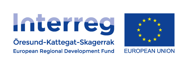 Logotyp Interreg Öresund, Kattegat, Skagerrak