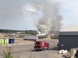 Brand på anläggningen